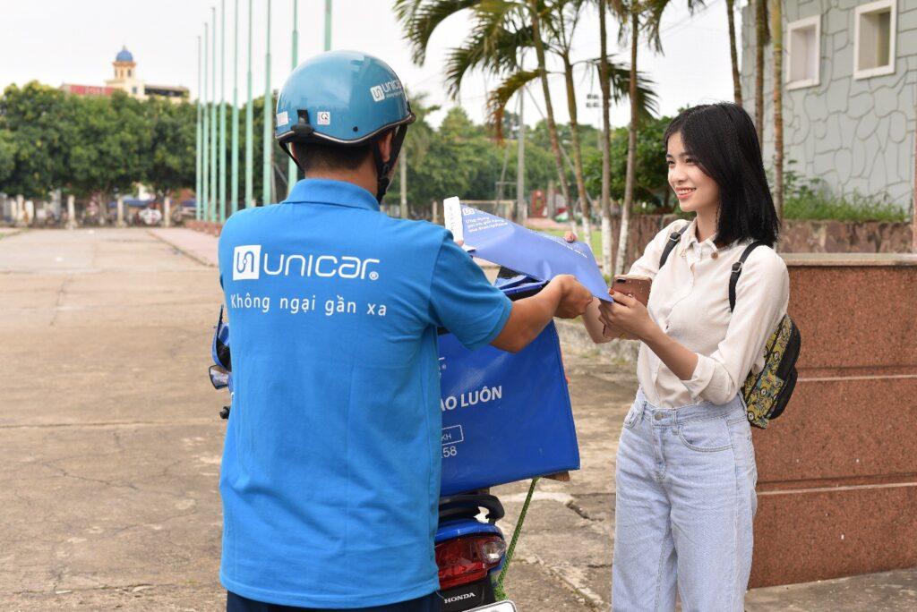 Vườn Cây xanh Hương Lộc sử dụng Unicar cho các đơn hàng gọn nhẹ